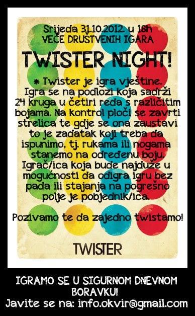 Poziv za twister