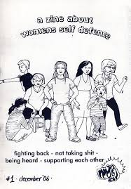 a zine about women self defence